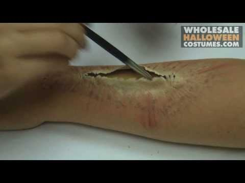 Special Effects | Bloody Wound Make up Tutorial