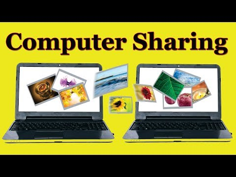 How to Share computer Files & Folder without internet using IP Address