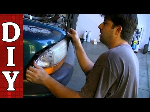 How to Remove and Replace a Head Light Bulb and Assembly - Dodge Dakota Sport