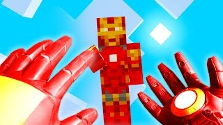 REALISTIC MINECRAFT - STEVE BECOMES IRON MAN!