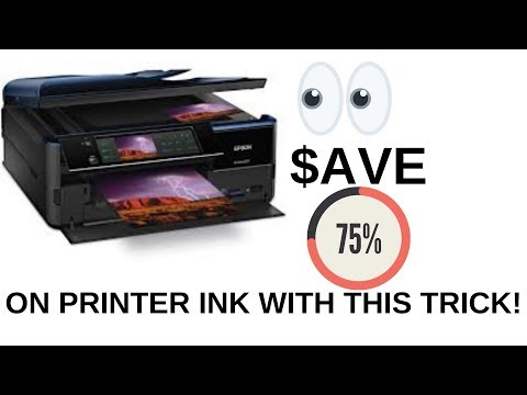 Save Money on Ink cartridges for Printer Epson Artisan 800 810 835 837 700 725 730 continuous ink