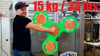 worlds largest real 3dprinted fidget spinner no cheating or clickbait