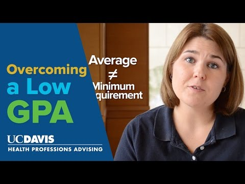 Overcoming a Low GPA - Pre-Health Two Minute Tuesdays