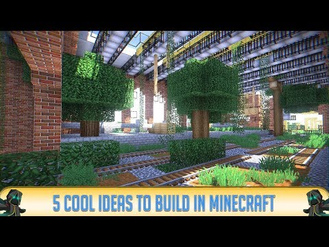 Minecraft: 5 Cool Things to Build in Minecraft 1.12.2 (Furniture & Decorations) | 2018