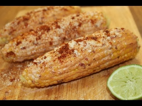 Mexican Corn On The Cob - Cooked by Julie - Episode 35