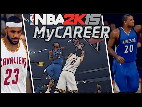 NBA 2K15 My Career: Posterizing Kevin Love! Throwing Down Alley-Oops