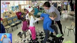 #x202b;חדשות השבת - שחמט בגן הילדים   כאן 11 לשעבר רשות השידור#x202c;lrm;