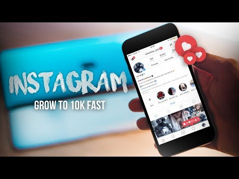 HOW TO GET YOUR FIRST 10K FOLLOWERS ON INSTAGRAM! | Tips to grow your Instagram page FAST!