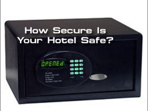 How secure is your hotel safe?
