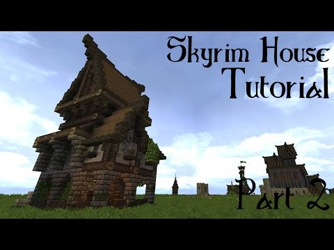 Minecraft Skyrim/Solitude Building Tutorial part 2
