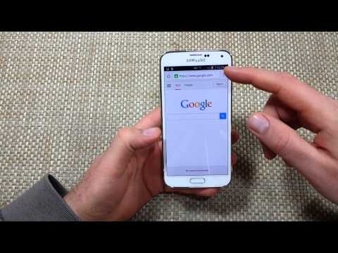 Samsung Galaxy S5 FIX Missing Open / Recent Tabs icon in Google Chrome Browser