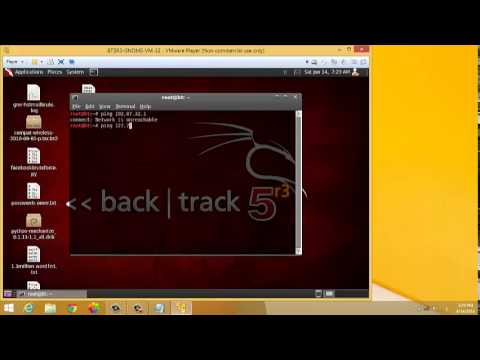 attack ip by backtrack