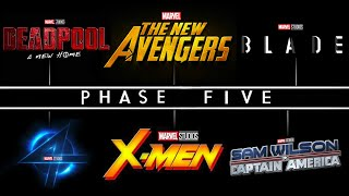 Marvel REVEALS NEW PHASE 5 MOVIE Release Dates! Deadpool 3, Fantastic Four, Captain America 4