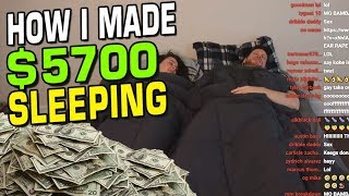 HOW I MADE $5700 SLEEPING FOR 5 HOURS!