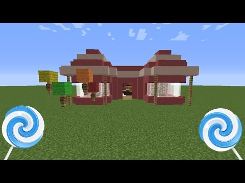 Minecraft: How to make a Candy Shop