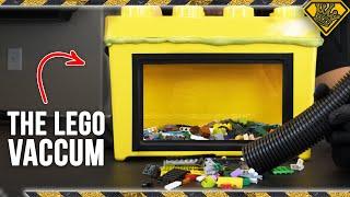 LEGO Vacuum Sucks Up Foot-Pain Worries