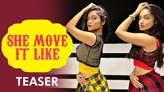 She Move It Like | Badshah | Ridy Sheikh & LiveToDance With Sonali | Dance Cover | Teaser
