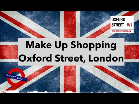 Oxford Street Make Up Shopping! // Pink and Rouge VLOG