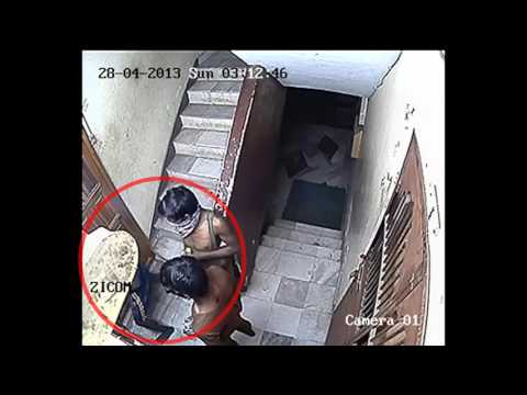 Thieves in the process of Robbing   Caught on Zicom CCTV Camera