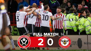 Sheffield United 2 - 0 Brentford | Full Match Replay | 18/19 Championship