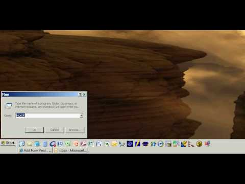 how to add on screen keyboard in windows xp
