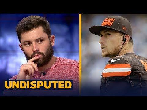 Baker Mayfield on the Johnny Manziel comparisons   NFL   UNDISPUTED