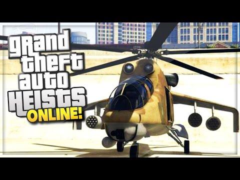 GTA 5 Heist Online Update