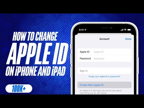 How to Change Apple ID on iPhone and iPad