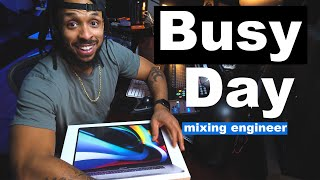 New MacBook Pro 2019 Unboxing | Cool Mastering Plugin Tip | Day in the Life of a Mixing Engineer