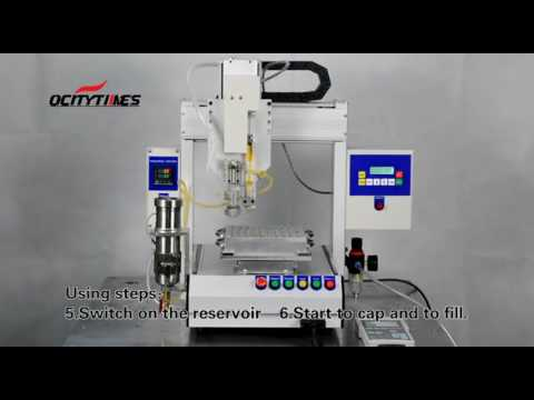 Ocitytimes F2+ Filling Machine Function Show(Capping stopper)