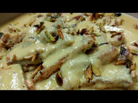 Shahi tukda recipe/Double Ka meetha recipe easy and simple recipe