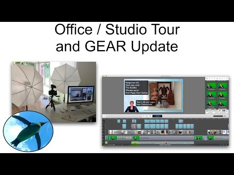 Office / Studio Tour and Gear Update