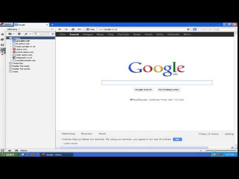 How to Delete Browser History in Opera