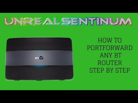 How To Portforward On  A BT Home Hub 5 - Step By Step 2017