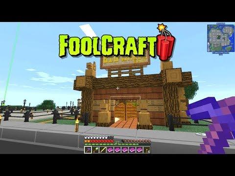 Minecraft - FoolCraft 3 #3: Foundry Foundation