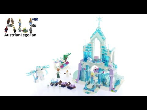 Lego Disney 41148 Elsa´s Magical Ice Palace - Lego Speed Build Review