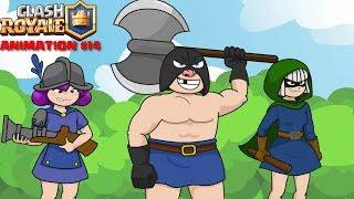 Clash Royale Animation #14: Executioner VS Executioner (Parody)