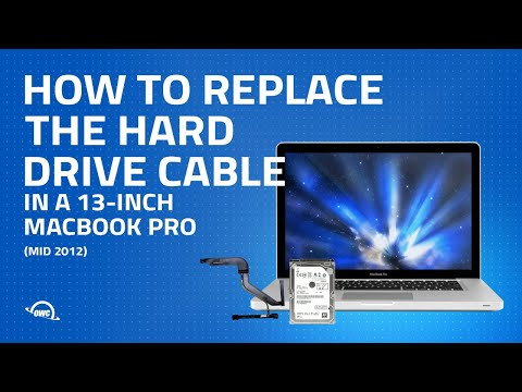 How to Replace the Hard Drive Cable in a 13-inch MacBook Pro Mid 2012