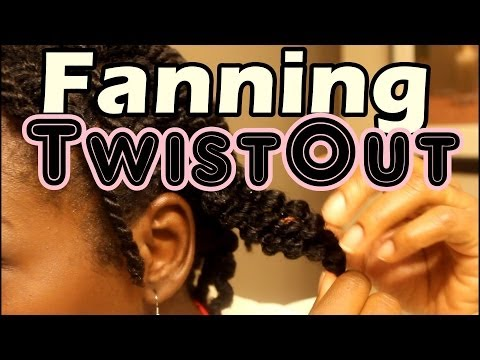 Natural Hair Styles | How to Create Fuller Twistout in Fine Thin Natural Hair