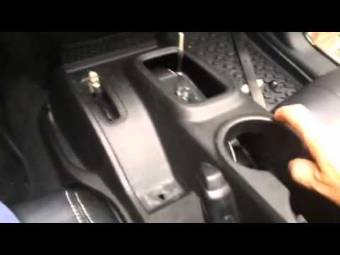 Jeep Upper Console Removal