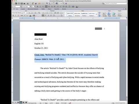 Creating a Hanging Indent in Word & Google Drive