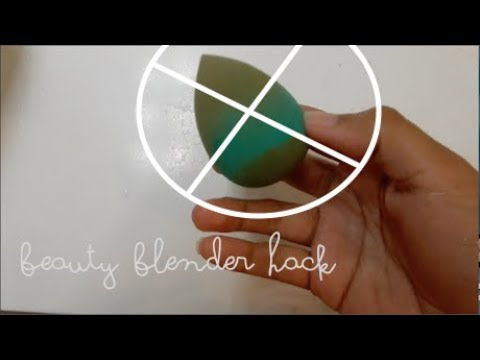 LIFE HACK:  How to clean a Beauty Blender