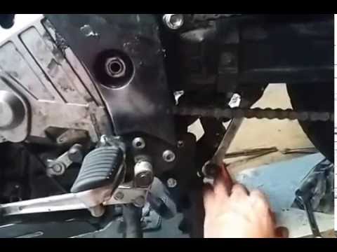 No link one piece motorcycle chain install in minutes.