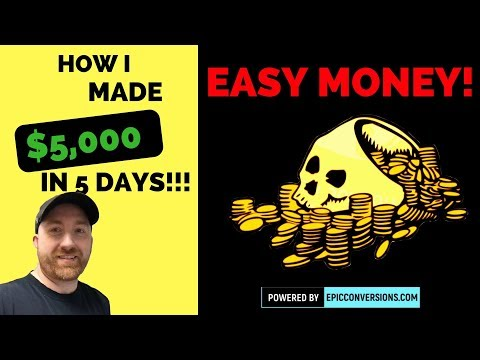 How I made 5k in 5 days