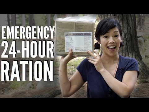 Emergency 24-hour RATION Mission Specifics   Menu 1 - Tuscan Beef & Chicken & Rice