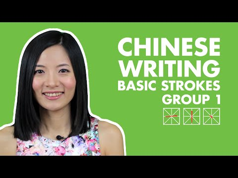 Learn Chinese Characters for Beginners Easy Fast & Fun | Chinese Strokes Writing Explained - 1