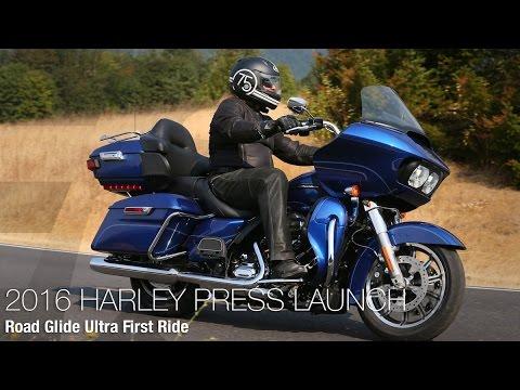 2016 Harley-Davidson Road Glide Ultra First Ride - MotoUSA