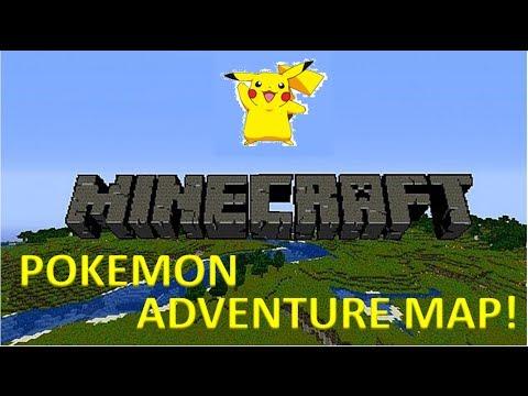 minecraft pokemon map download