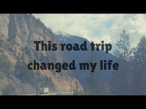 Road Trip from  Vancouver to Edmonton (so many memories)