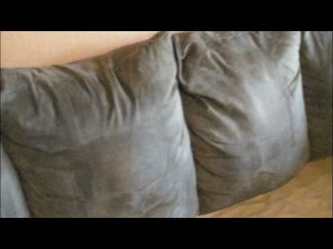 HGTV:Sprucing up Your Microfiber Couch